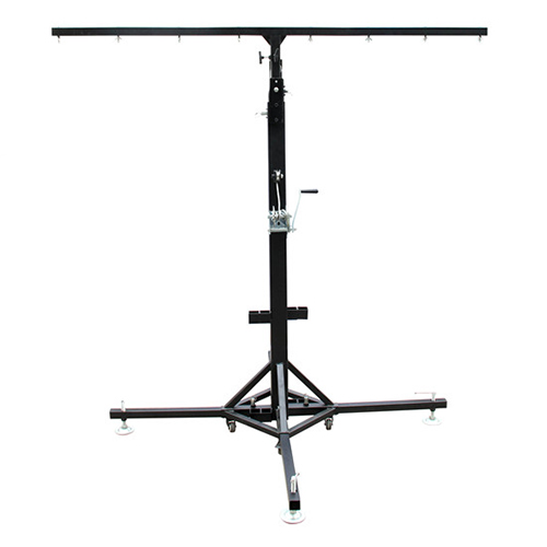PT012-H4m with wheels single beam light stand